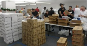 Dismas Charities Orlando Helps Sort School Supplies