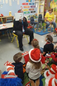 Dismas Charities Savannah Staff Read Dr. Seuss To Kids