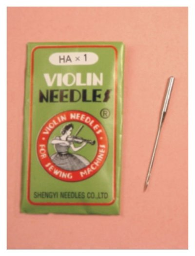 Agujas máquina violín