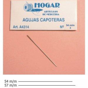 Agujas capoteras (laneras)