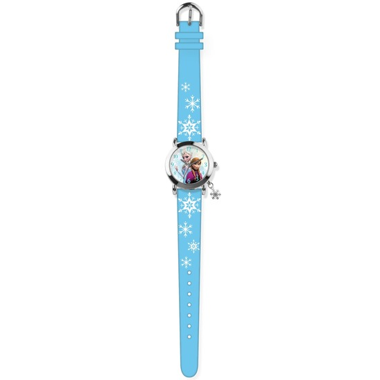 Blauw Disney Frozen analoog horloge voor meisjes