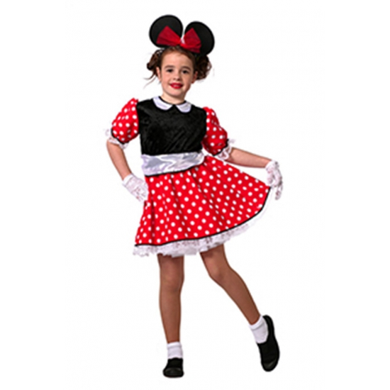 Carnavals kinder kleding Minnie