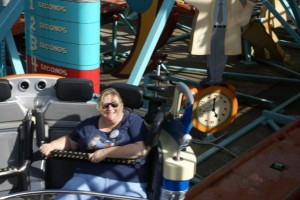 Carolyn on Primeval Whirl