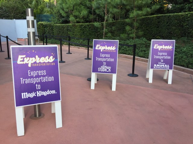 Disney Express Bus
