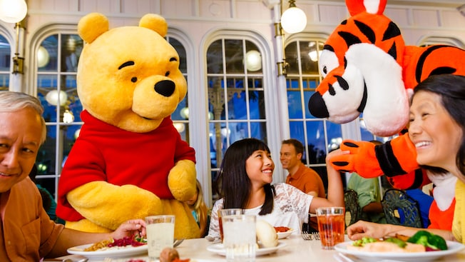 Character Dining Disney