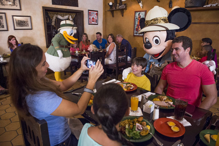 Character Dining Disney World