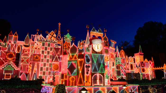 the december is here which means the christmas season has finally arrived at disneyland resort between the two theme parks 3 on site hotels and disney - When Does Disneyland Decorate For Christmas