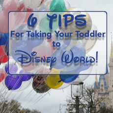 6 Tips for Taking a Toddler to Walt Disney World