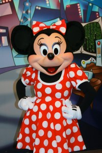 Meeting Minnie is one of the best toddler attractions at Epcot in Disney World