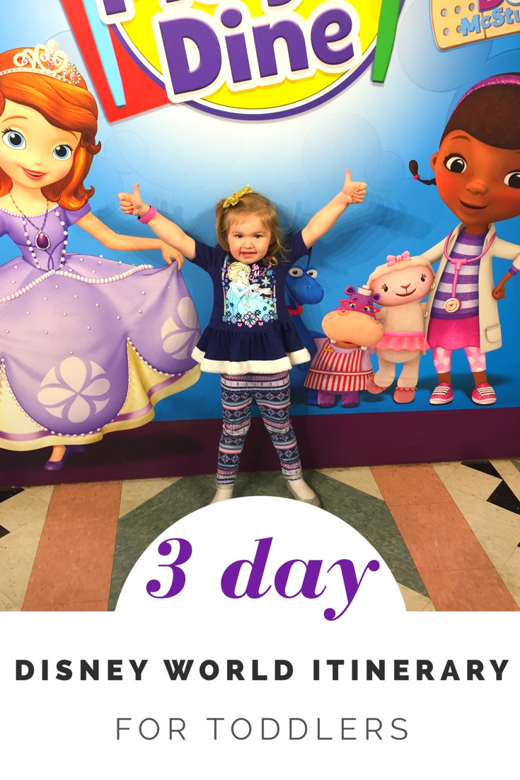 3 Day Disney World Itinerary for Toddlers (Comprehensive Plan)