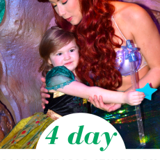 4 Day Disney World Itinerary for Toddlers