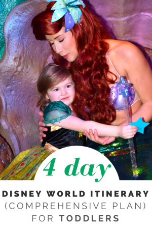4 Day Disney World Plan & Itinerary for Toddlers