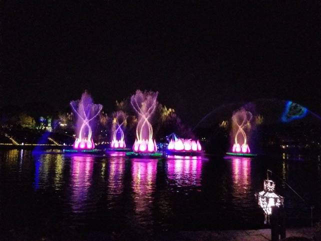 new show at animal kingdom has begun - rivers of light review