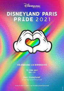 Disneyland Paris Pride 2021 Poster