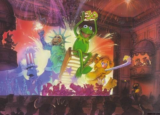 MuppetVision 3D Concept