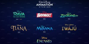 Walt Disney Animation Studios Projekte für Disney+