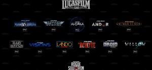 Lucasfilm und Star Wars Filme und Serien für Disney+ und Kino ab 2021