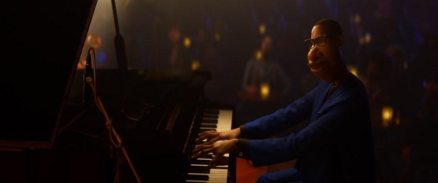 Joe Gardner am Piano