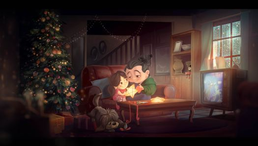 "Concept Art Disney ""From Our Family To Yours"""