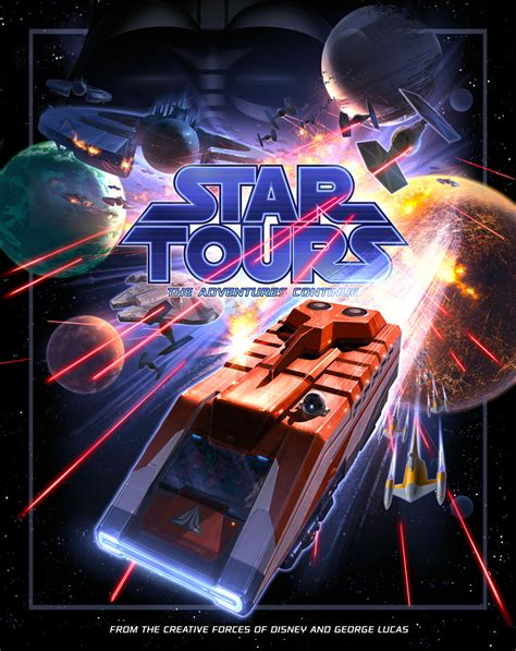 Poster für Star Tours - The Adventure Continues