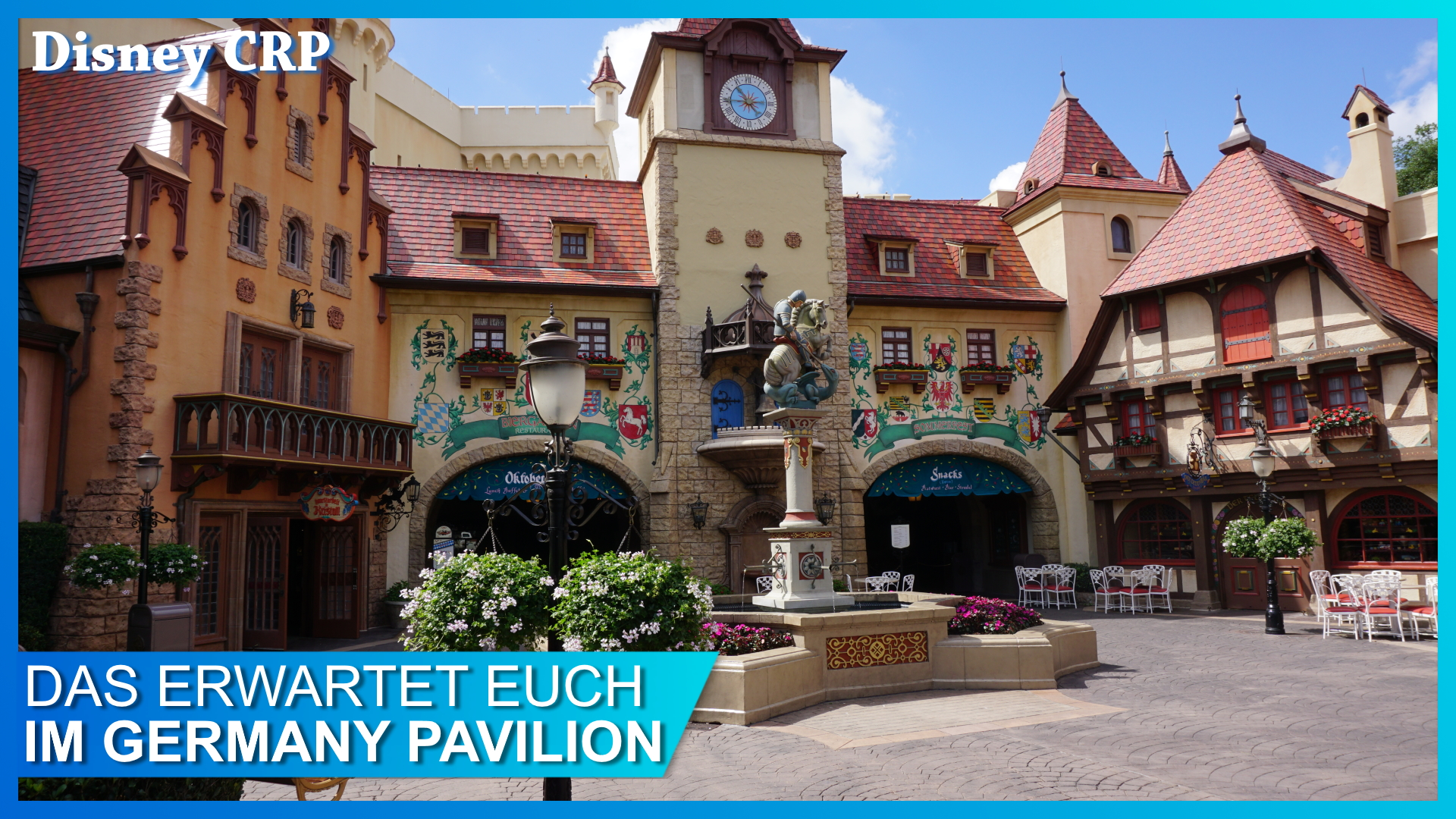 Germany Pavilion in EPCOT Deutschland