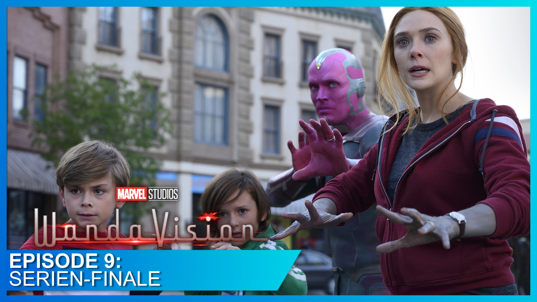 Wanda, Vision, Billy und Tommy