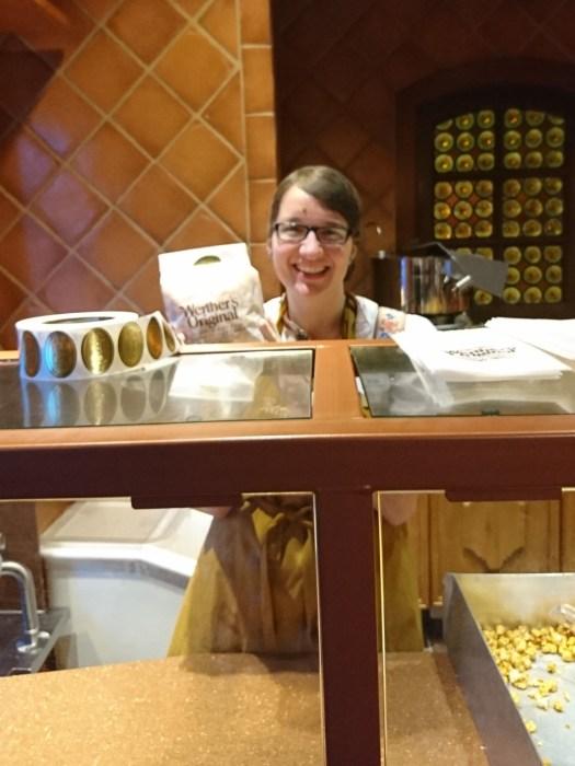 Werther's Caramell popcorn Karamellküche Epcot Germany