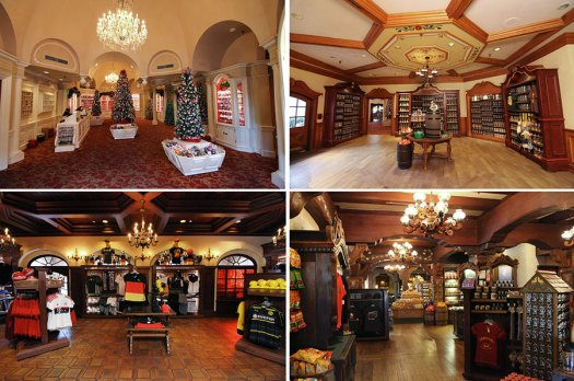 Merchandise Shops in Epcot's Germany Pavilion