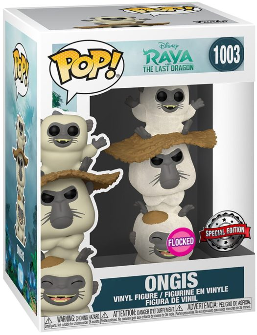 Funko Pop Ongis flocked special edition