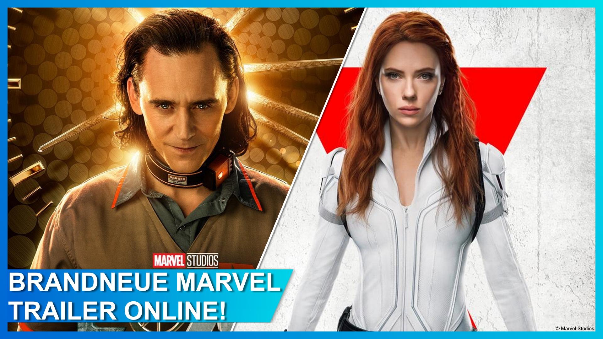 Neue Trailer zu Loki und Black Widow