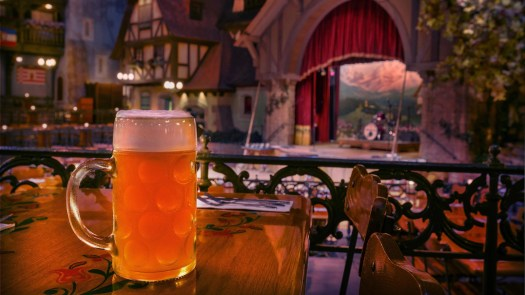 Beer at Germany Pavilion Epcot