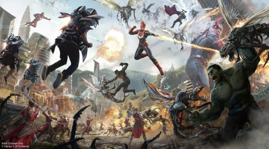 Avengers Quinet Attraction