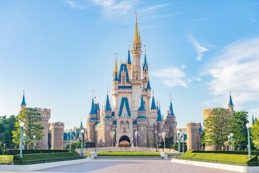 Behind the Attraction The Castles Tokyo Disney Resort Cinderella Castle
