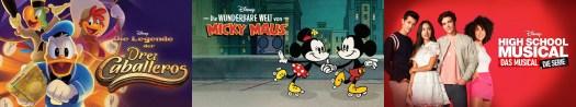 3 Caballeros Wonderful World of Mickey HSMTMTS