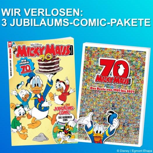 70 Jahre Micky Maus Magazin Jubiläums-Ausgabe