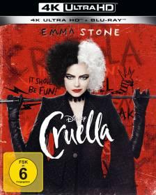 Cruella 4K Ultra HD Blu-ray
