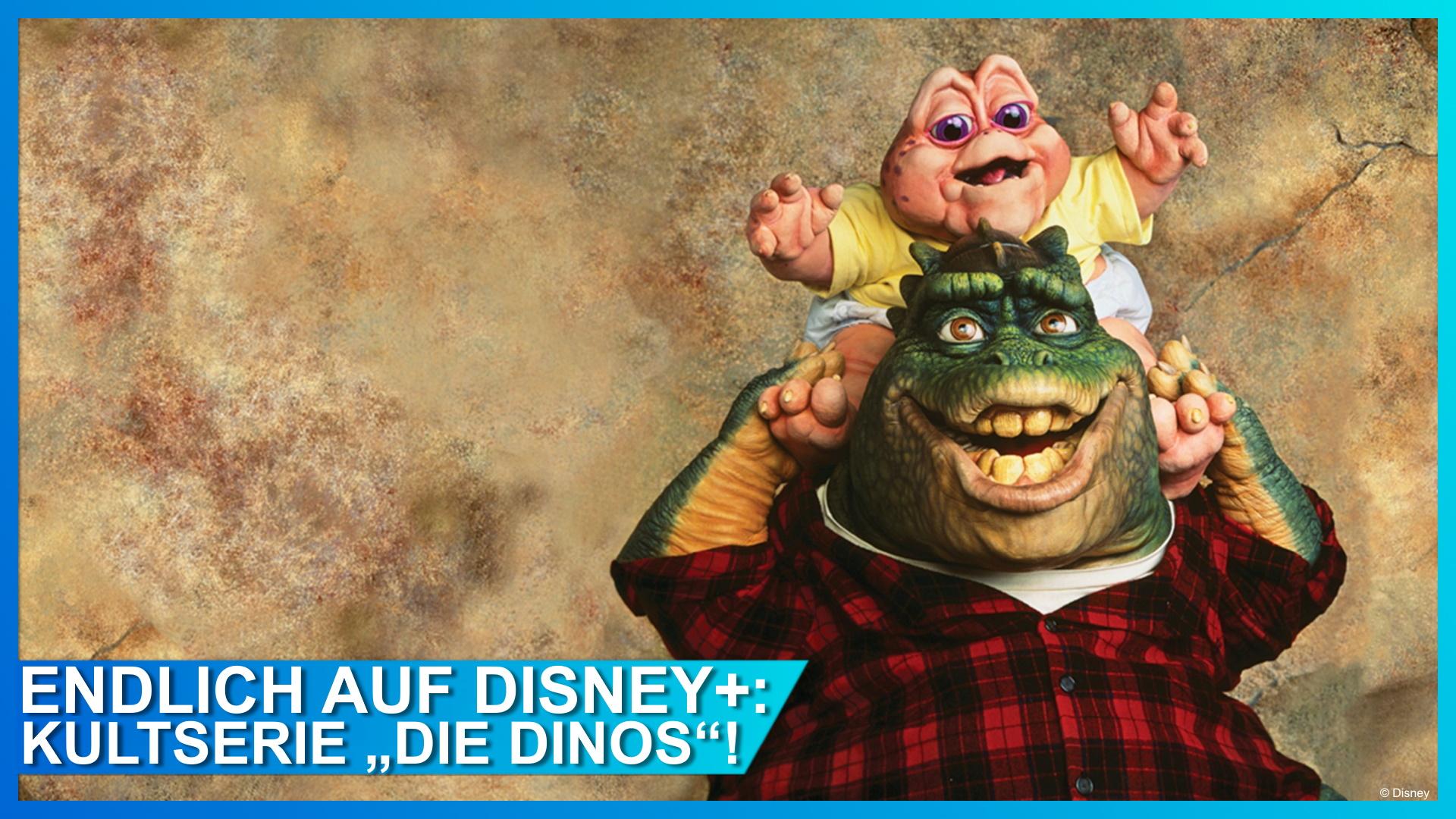 Ab sofort endlich auf Disney+: DIE DINOS!
