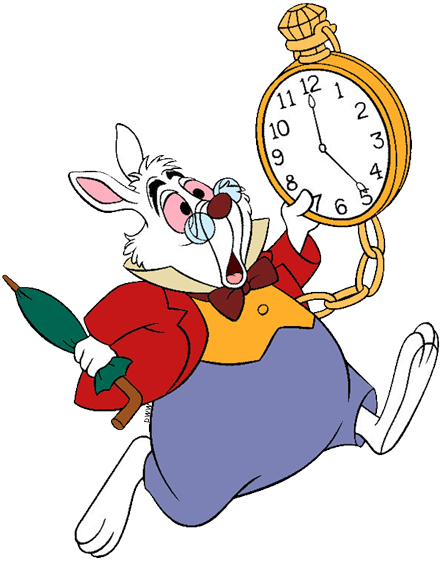 The White Rabbit Clip Art | Disney Clip Art Galore