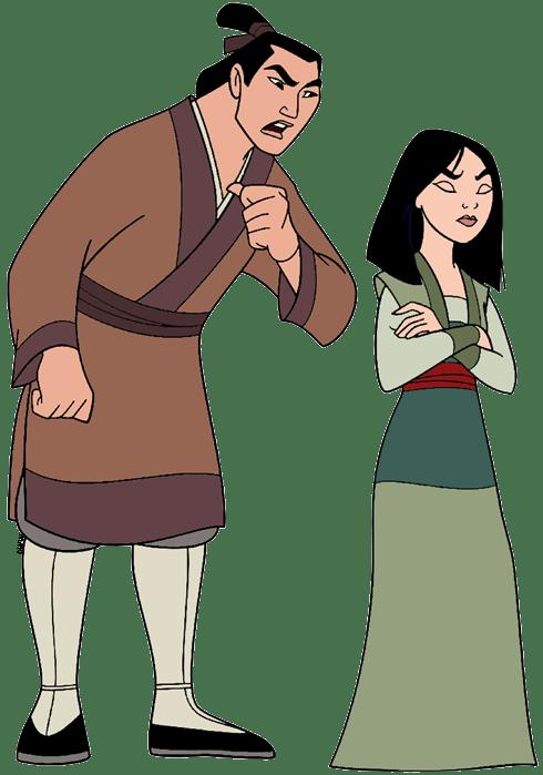Mulan And Shang Clip Art Disney Clip Art Galore