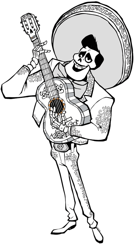 Disney pixars coco clip art disney clip art galore, mickey mouse coloring pages