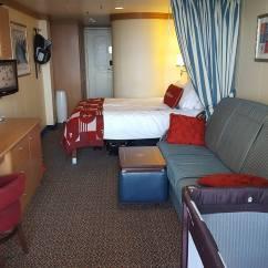 Disney Dream Sofa Bed Henredon Fireside Short Room 7128  Cruise Mom Blog