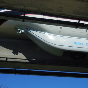 Disney's Blue Monorail