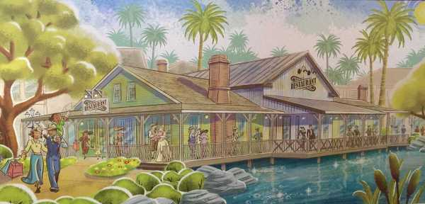 Concept Art Disney Springs Awesome