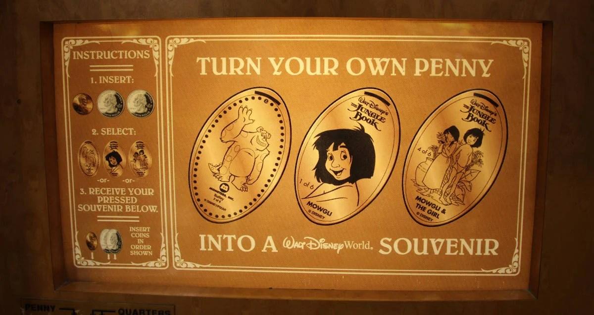 Penny Mickey Studios Disney Walt Pressed