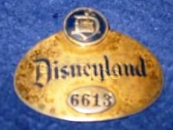 Its All in a Nametag The Metal Badges of Disneyland Disney Dispatch