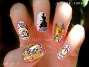 5 disney nail art manicures