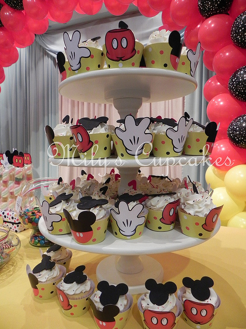 Disney Mickey Mouse Themed Birthday Party Dessert Table  Disney Every Day
