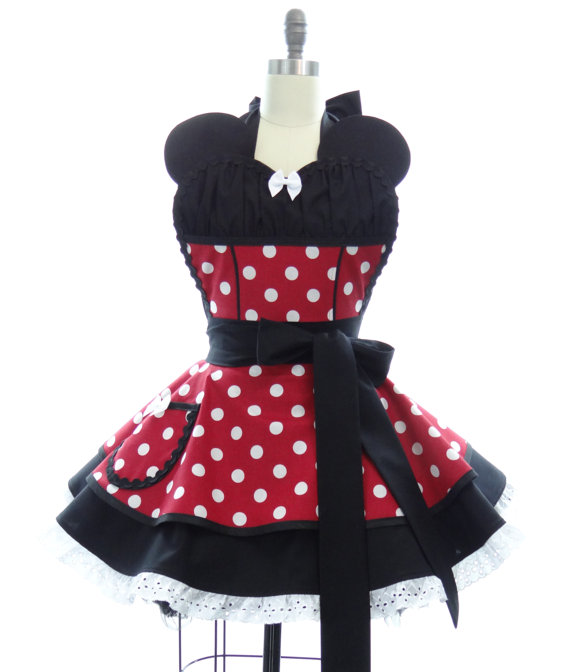 Sexy Minnie Mouse Disney Apron Disney Every Day