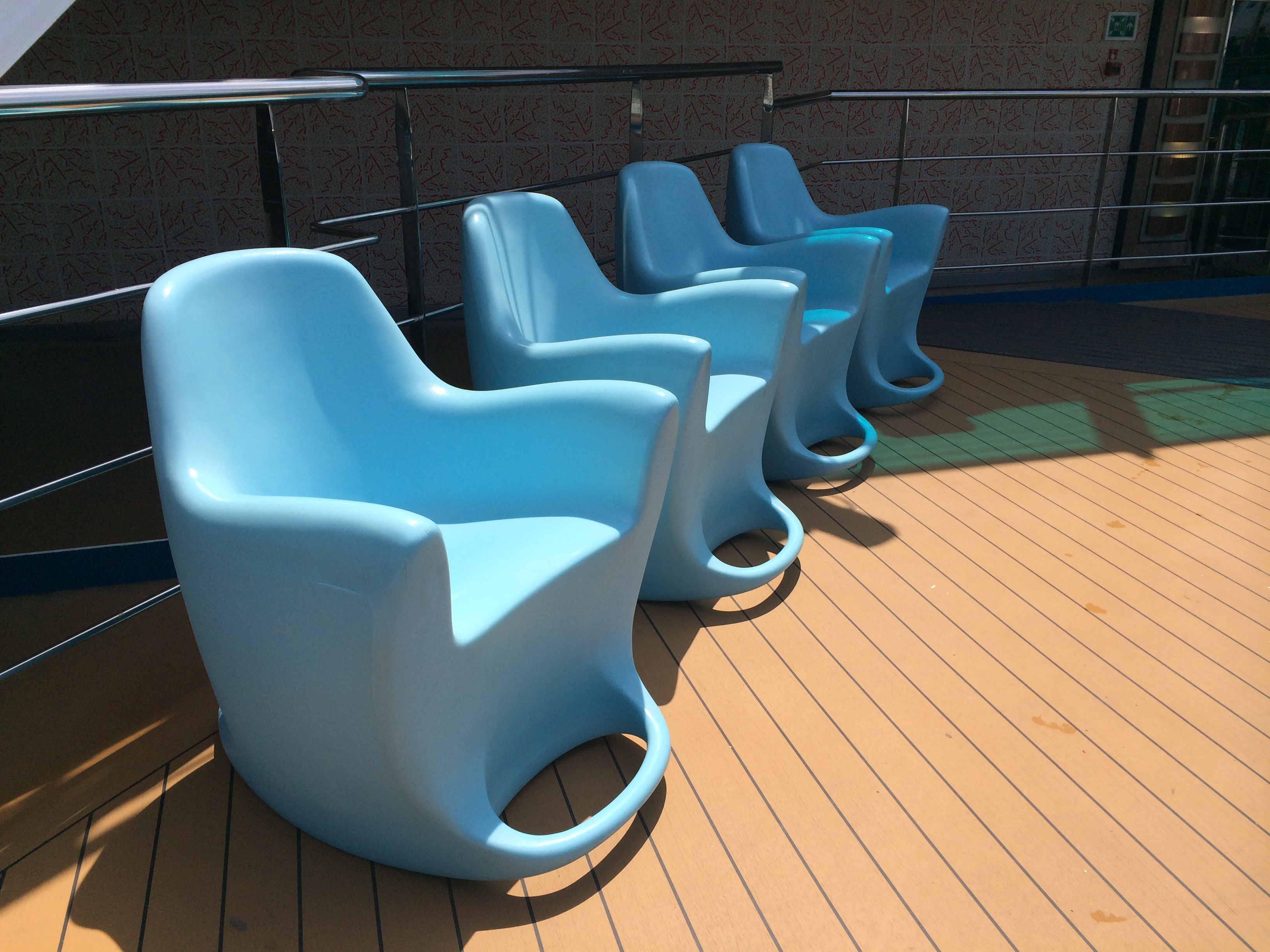 amazing noodle chair patio furniture swivel rocker day 6  carnival dream cruise report western caribbean