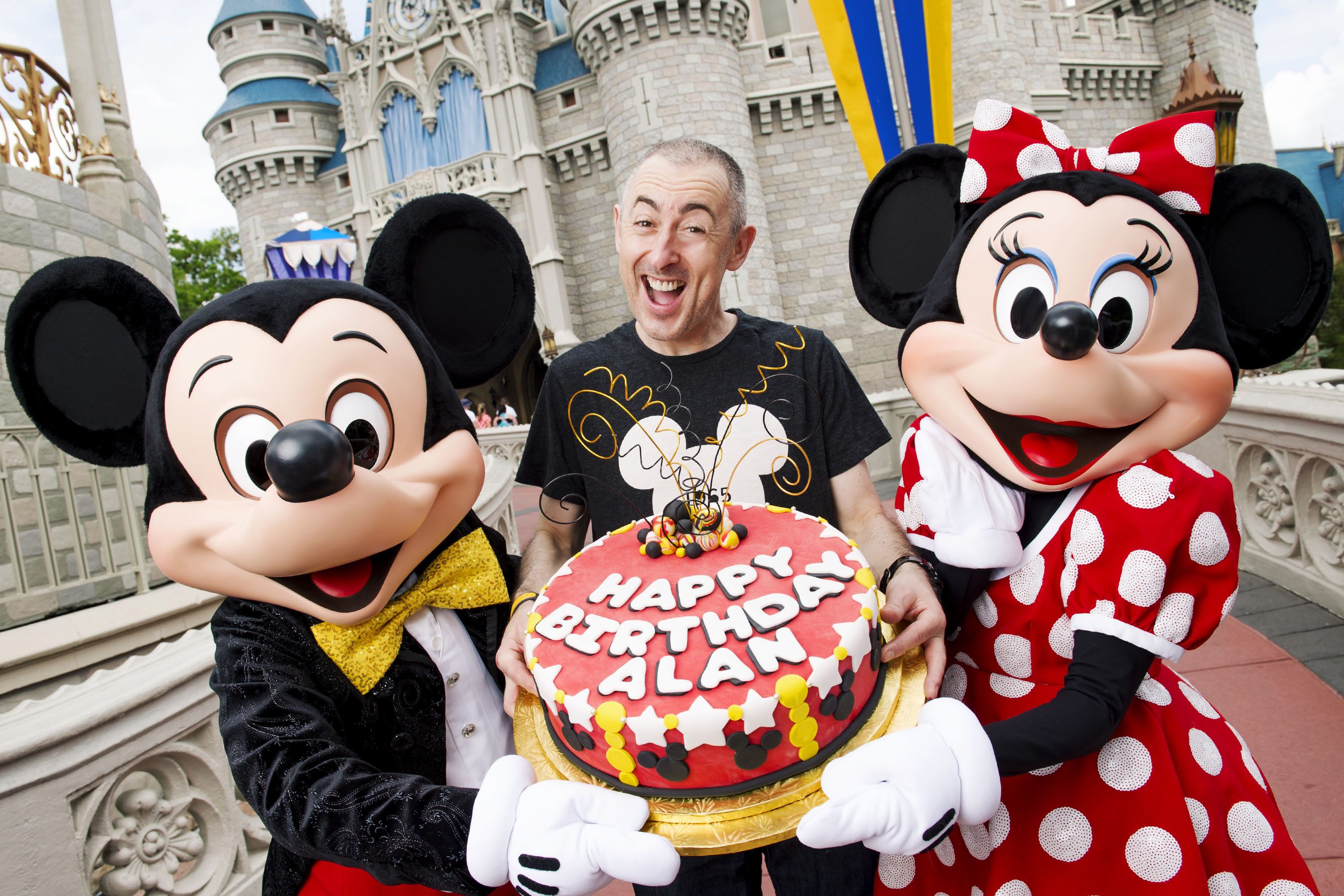 Alan Cumming Celebrates 50 Years At The Walt Disney World